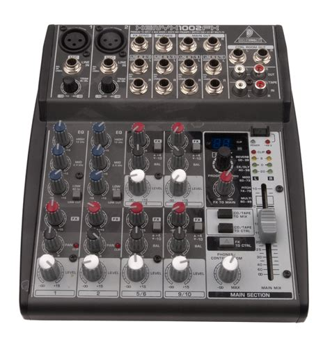 Mixer Xenyx 1002fx pa kit qsc k12 normal behringer xenyx1002fx sound