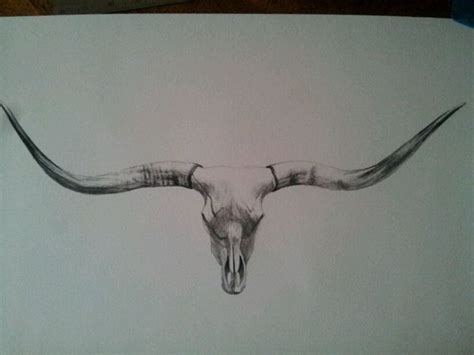 longhorn tattoo the 25 best longhorn ideas on half
