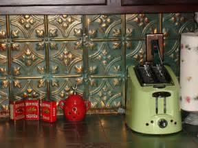 Tin Tiles For Kitchen Backsplash Tin Backsplash Kitchen Backsplashes Rustic Kitchen