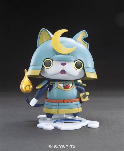 Jibanyan Bandai bandai youkai 3ds anime model kit 03 bushinyan bushido samurai ebay
