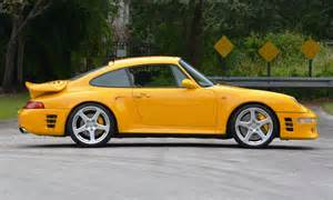Upholstery Kissimmee 1997 Ruf Porsche 911 Turbo R Yellowbird