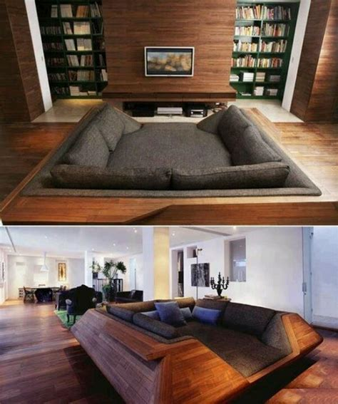 movie pit couch pinterest