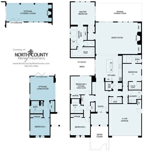 la costa collection floor plans plan 1a north county the enclave at buena vista new homes in carlsbad north