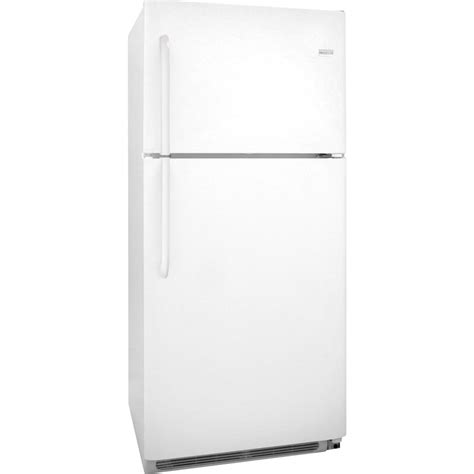 clear glass door refrigerator frigidaire frt21g2nw 21 0 cu ft top freezer refrigerator