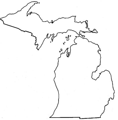 template of michigan student links