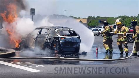 update  year  man severely injured  car fire