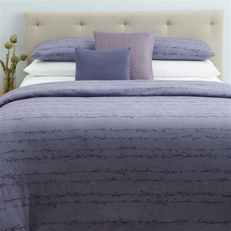 Bamboo Duvet Review Calvin Klein Home Sydney Collection Bloomingdale S