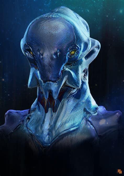 film blue humanoids in pandaria crea water colo by llamllam