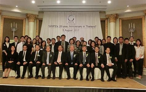 Grip Sinagawa Brng Thailand grips 20th anniversary celebration in bangkok national graduate institute for policy studies