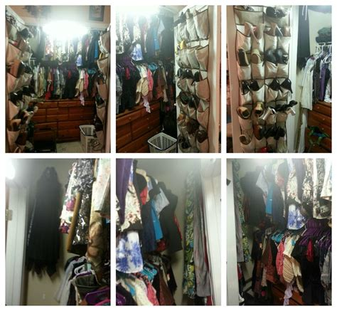 how to organize a small closet with lots how to cram a lot into a small closet 1st my hangers are