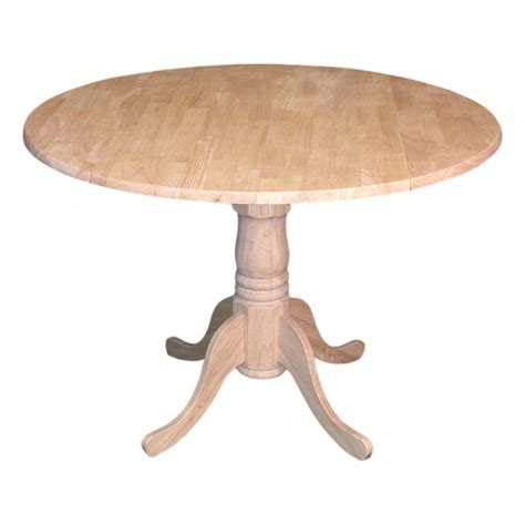 Drop Leaf Pedestal Table Drop Leaf Pedestal Table Drmw74t42dp