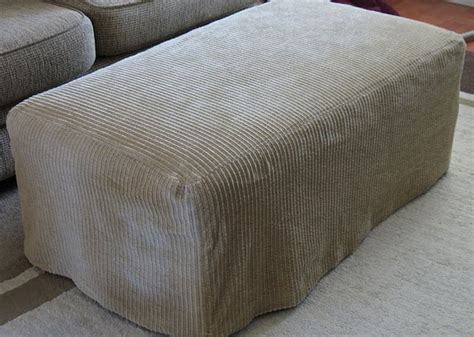 Rectangle Ottoman Slipcover Rectangular Ottoman Craft Projects