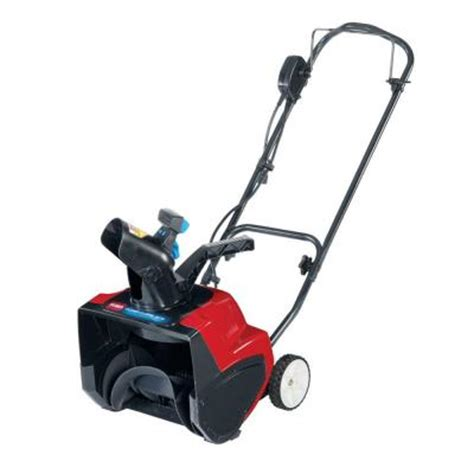 small snow blowers home depot toro 15 in power curve electric snow blower 38371 the
