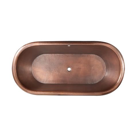 pedestal bathtub pedestal copper bathtub copper tubs bathtubs bathroom