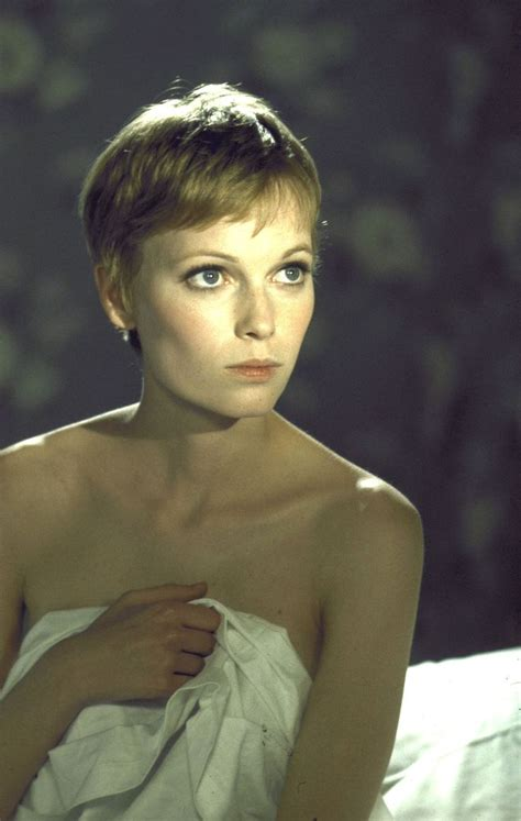 mia farrow haircut mia farrow pixie cut oh so pretty pinterest