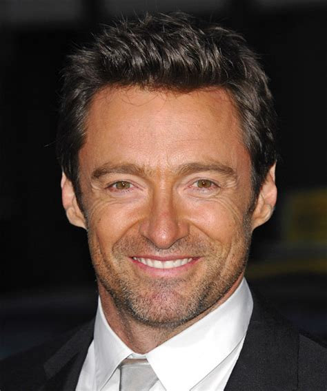 Hugh Jackman Hairstyle by Hugh Jackman Casual Hairstyle
