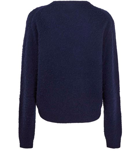 Sweater Mtma Navy Tosca acne studios navy tosca pill wool jumper in blue lyst