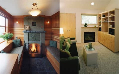 Small Fireplaces For Small Spaces by Portland Seattle Home Remodeling Fireplace Ideas For