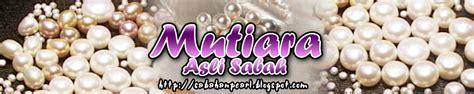 Anting Juntai Pearl mutiara asli sabah pelbagai aksassori berasaskan mutiara