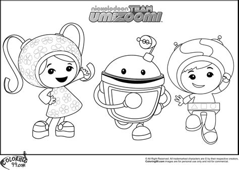 Nick Jr Printables Team Umizoomi Coloring Pages All Ages Index | team umizoomi printable coloring pages coloring home