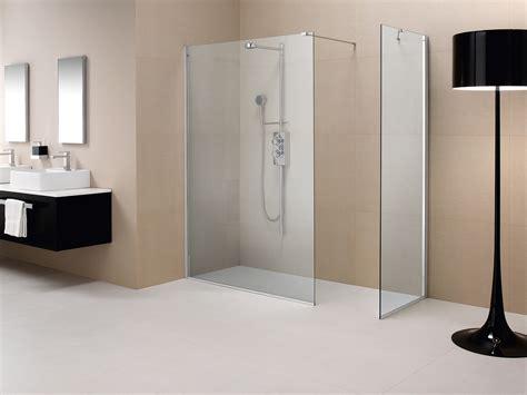 pareti doccia cristallo parete doccia divisoria fissa in cristallo linea trasparenza