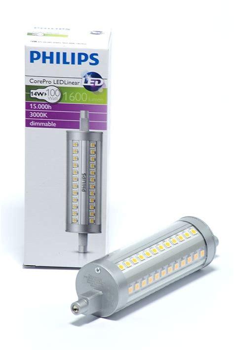 Lu Led Philips 18 Watt philips r7s led strahler 14 watt 1600 lumen led homeshop