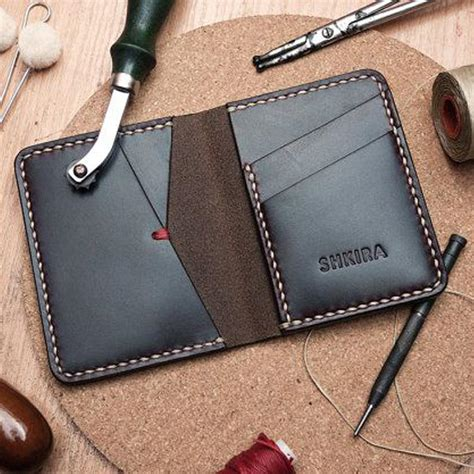On Leather by 10 Awesomely Creative Leather Wallet Designs The