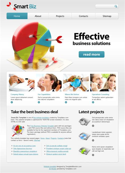 30 Most Unique And Best For Business Website Templates Themescompany Smart Website Templates