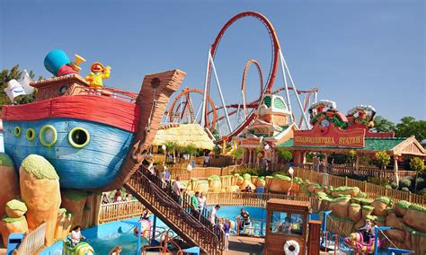 theme park spain portaventure theme park costa dorada spain daily mail