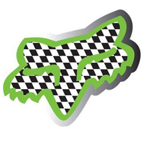 fox motocross stickers stick stikers fox racing