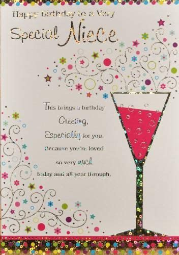 Wedding Anniversary Message For Niece by Niece Birthday Card Shower Wedding Niece