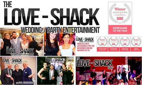 Wedding Bands Entertainment by Shack Wedding Entertainment Wedding Band And Dj In