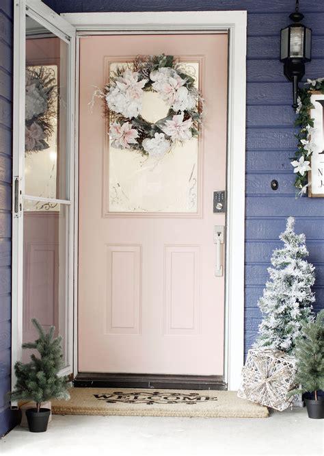 front door makeover prescott view home reno holiday front door makeover and
