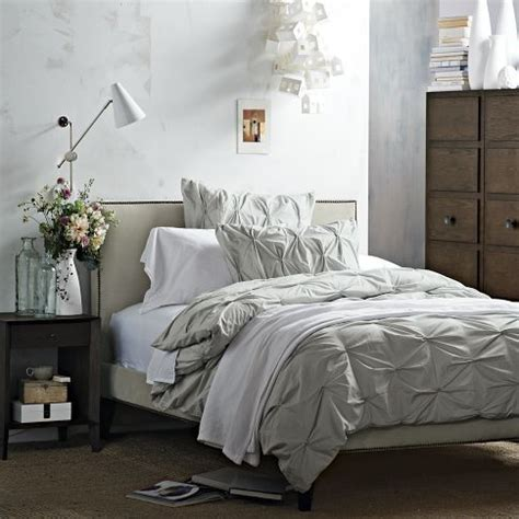Pintuck Headboard by 1000 Images About Pin Tuck Duvet Cover On