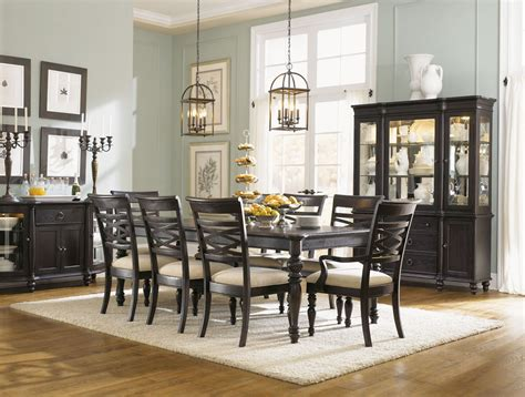 glen cove espresso leg dining room set 1521 222 legacy