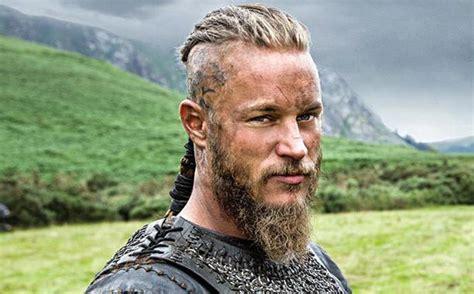 ragnar lodbrok barbe coupe de cheveux viking homme