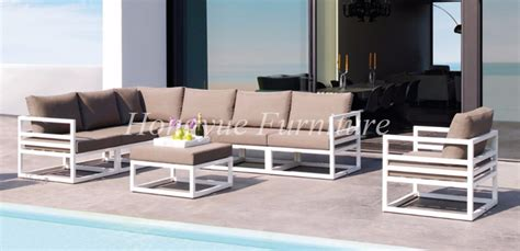 aluminum patio furniture sale outdoor patio white aluminum frame sofa set furniture sale