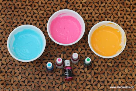 3 ingredient diy paint