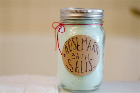 Handmade Bath Salts - so let s hang out a rosemary bath salts