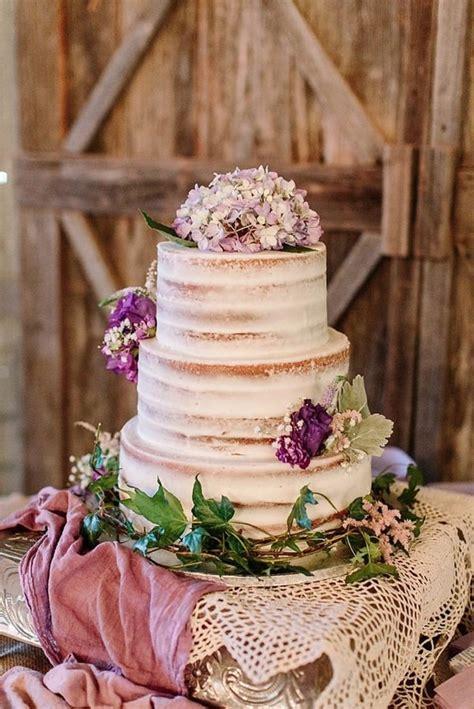 purple boho rustic chic wedding purple wedding cakes