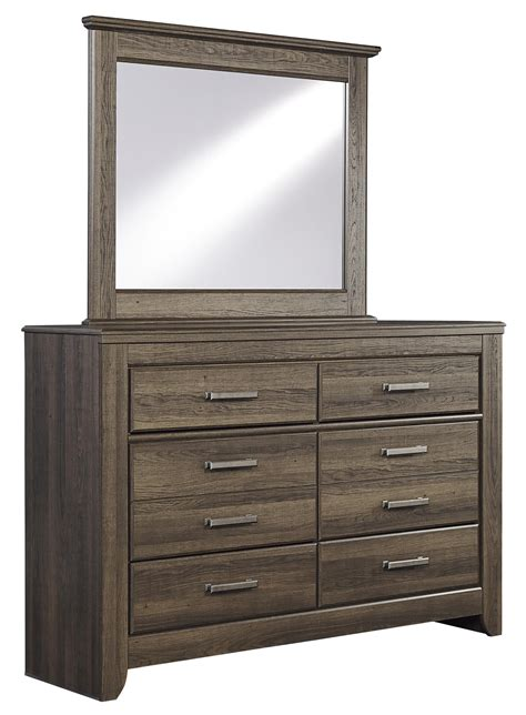 Youth Bedroom Dressers Signature Design By Juararo 6 Drawer Youth Dresser Mirror Furniture Mattress