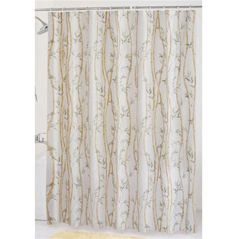 shower curtains walmart mainstays bamboo garden peva shower curtain walmart com