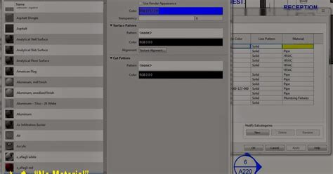 revit tutorial getting started revit tip remove material from object style etc