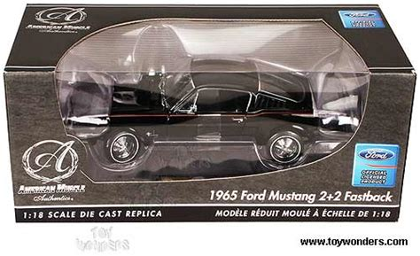 Ertl Authentics American 1965 Ford Mustang Gt 2 2 Fastback 1965 ford mustang 2 2 fastback top by rc2 ertl authentics car 1 18 scale diecast