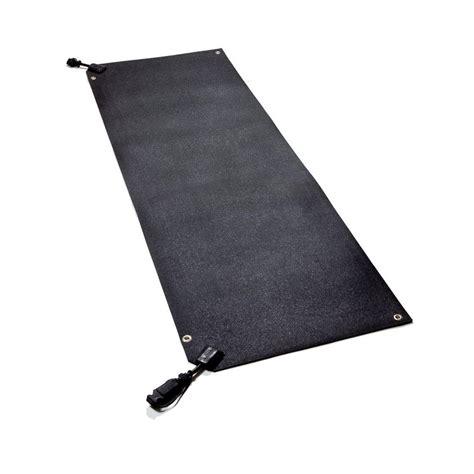 heated floor mats home depot heattrak 20 in x 60 in residential snow melting walkway mat hr20 60 the home depot