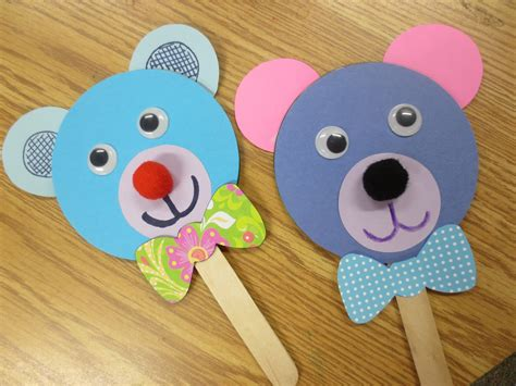 puppet crafts for image gallery stick puppets