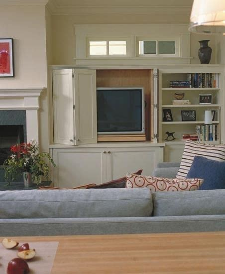 Tv Cabinet With Doors To Hide Tv Tv Cabinet For The Home Pinterest