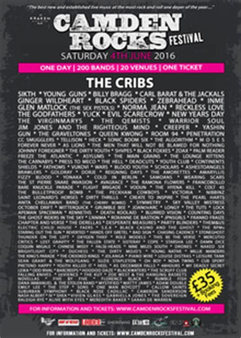 The Cribs Tickets by The Cribs Tickets Tour Dates 2017 Concerts Songkick