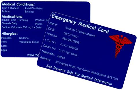 medical card section contact number medical tags uk retailer of medical alert identification