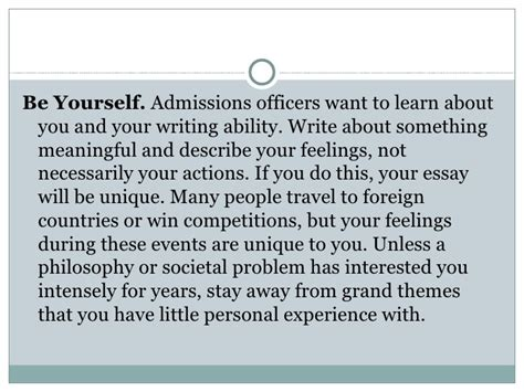 College Application Essay Tell Us About Yourself Writing College Essay